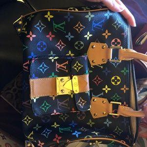 Lous Vuitton black purse